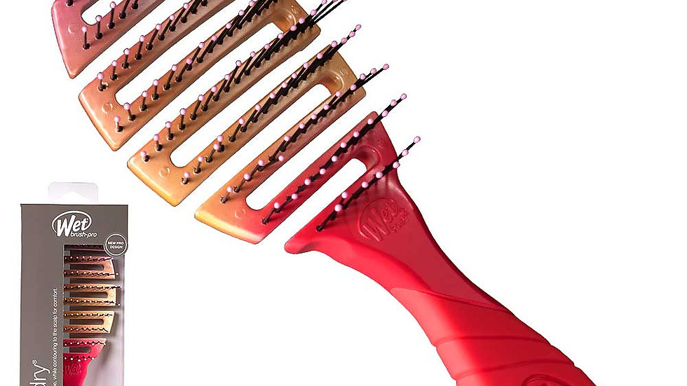 WetBrush Pro Flex Dry Coral Ombre