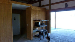 Entrance to Tack Room
