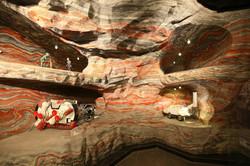 Диорама калийной шахты
