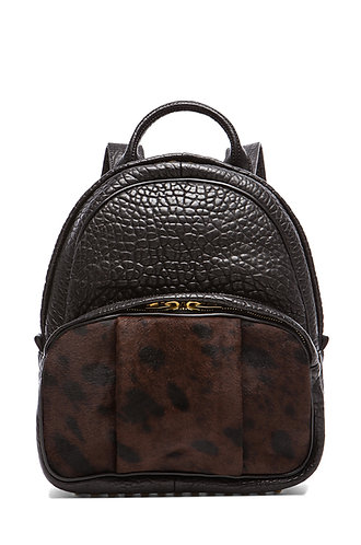 ALEXANDER WANG  Printed Calf Hair Dumbo Backpack