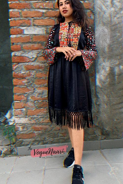Black Mirror work short dress