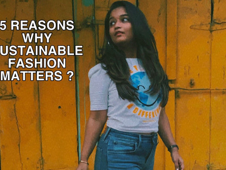 Why is SLOW-FASHION need of the hour?