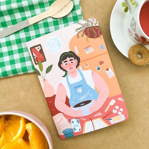 Caderno de Receitas - Cozinhando