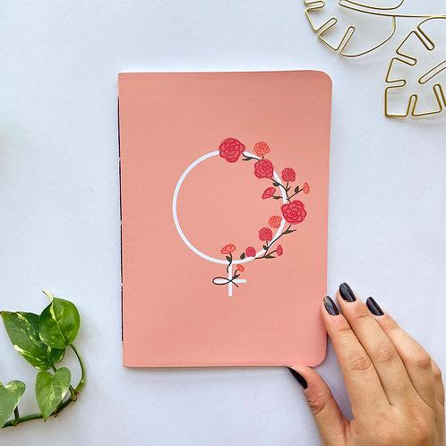 Caderninho Primavera-Rosa