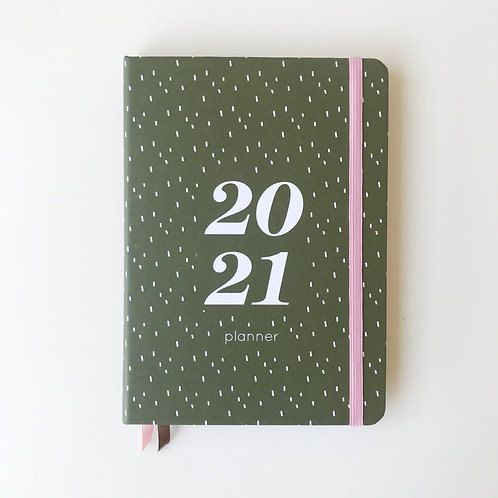Planner caderninho - Verde