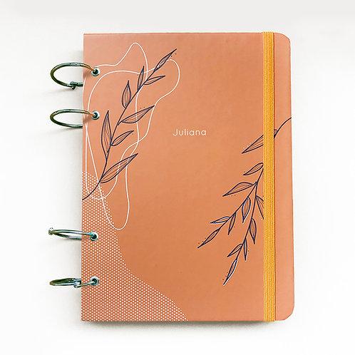 Caderno Fichário 18x24 - Laranja 21