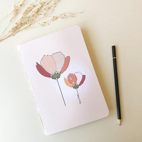 Caderninho Jardim - Cosmos