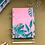 Thumbnail: Caderno Fichário A5 - Tropical Rosa