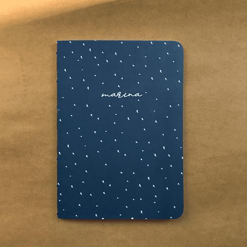 Caderninho Pintadinho Marinho