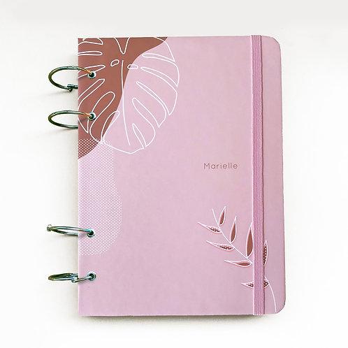 Caderno Fichário A5 - Rosa 21