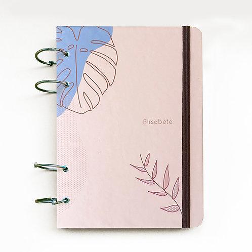 Caderno Fichário 18x24 - Bege 21