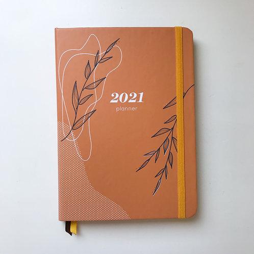 Planner caderninho - Laranja