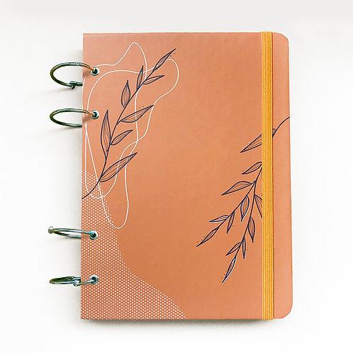 Caderno Fichário A5 - Laranja 21