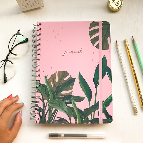 Journal A5 - Tropical Rosa