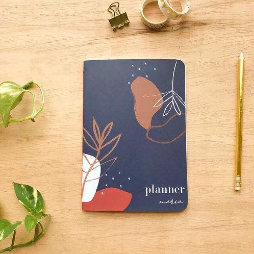 Mini Planner-Marinho