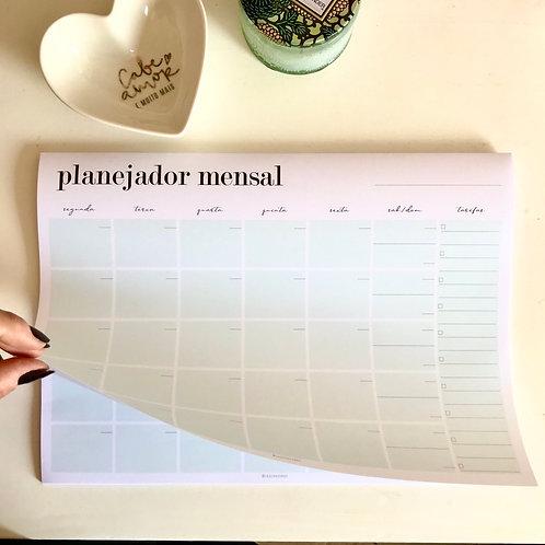 Planejador mensal