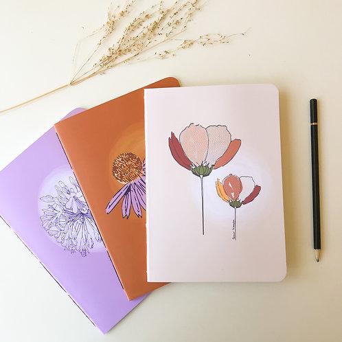 Conjunto Caderninhos Jardim