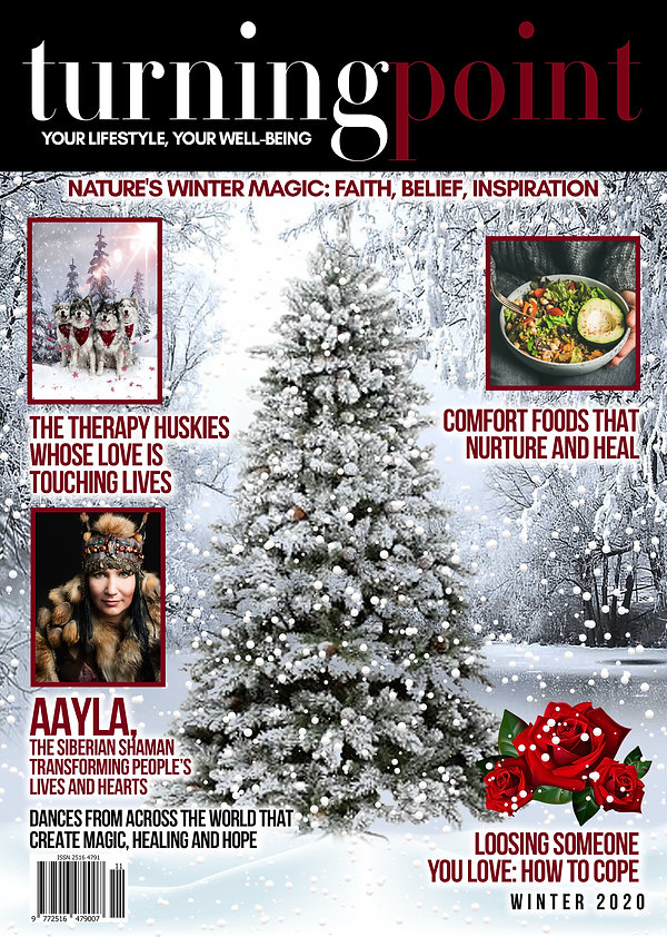 Latest Front Cover of Winter 2020 Magazi