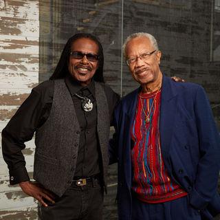 Lloyd G Williams with Cornelius Grant
