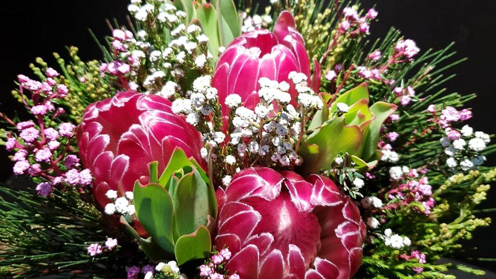 BRENDA 3 FLOWER BOUQUET