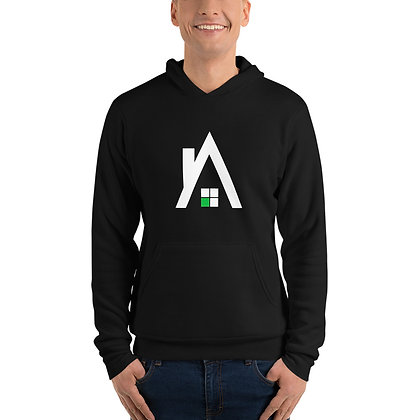 """Unisex """"A"""" Pullover Hoodie"""