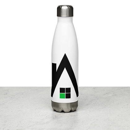 """Agentcor """"A"""" Stainless Steel Water Bottle"""