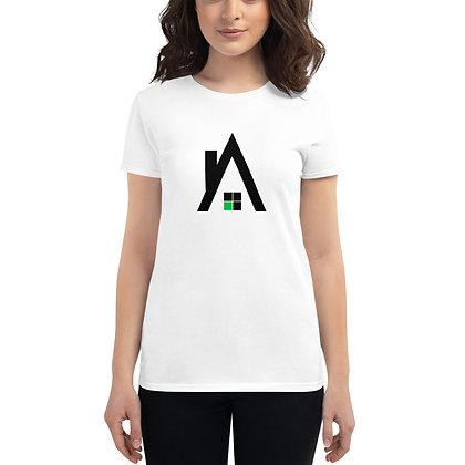"Women's Agentcor ""A"" White T-shirt"
