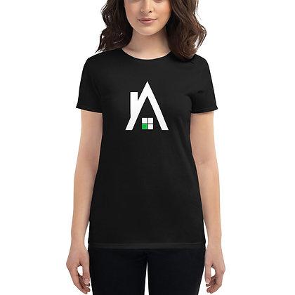 """Women's Agentcor """"A"""" Black T-shirt"""