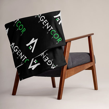 Agentcor Pattern Throw Blanket
