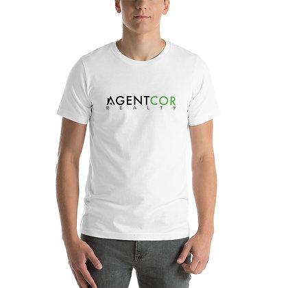 Agentcor Unisex White T-Shirt