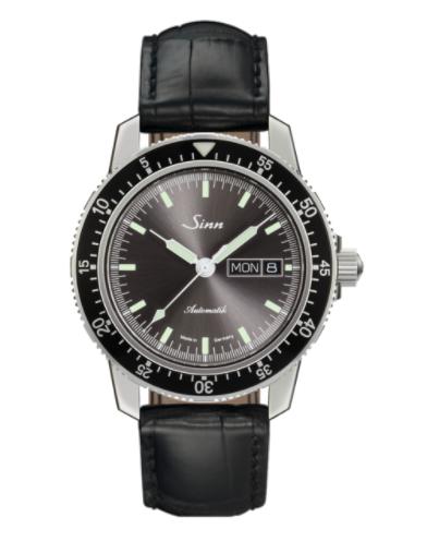 Sinn - 104 St Sa I A - Black Leather Starp Options - 104.014