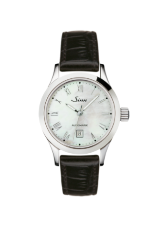 Sinn - 456 St Mother of Pearl W - Leather Strap Options - 456.015