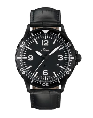 Sinn - 857 S - Black Leather Strap options - 857.021