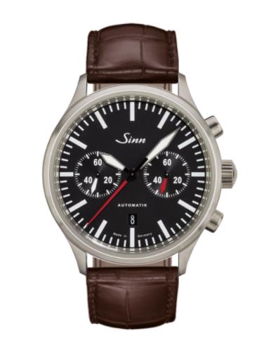Sinn - 936  - Brown Leather Strap options - 936.010