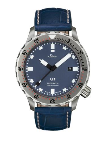 Sinn - U1 B with TEGIMENT - Misc Leather Strap options -1010.031