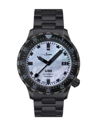 Sinn - U50 S Mother of Pearl - Bracelet option - 1050.0201