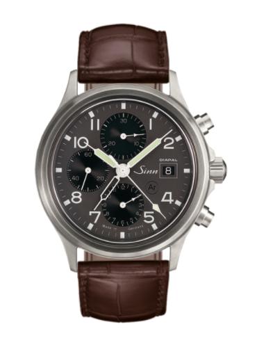 Sinn - 358 DIAPAL - Brown Leather Strap options - 358.061