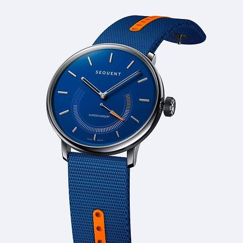 Sequent Supercharger Premium Blue Orange