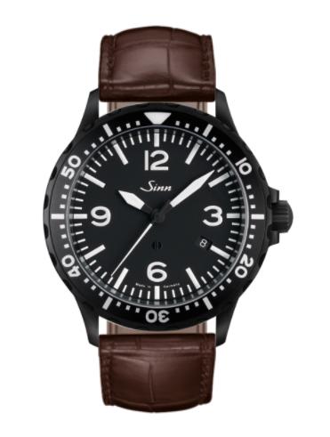 Sinn - 857 S - Brown Leather Strap options - 857.021