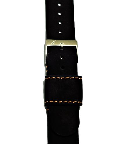 Italian Saddle Leather - Black