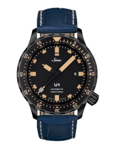 Sinn - U1 S E - Misc Leather Strap options -1010.023