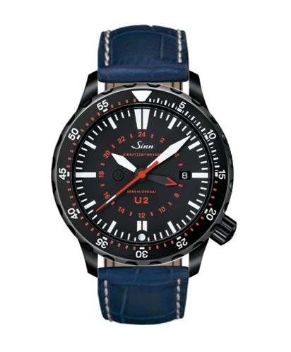 Sinn - U2 S (EZM 5) - Misc Leather Strap option - 1020.020