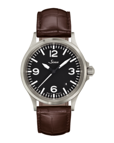 Sinn - 556 A - Brown Leather Strap options - 556.014