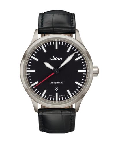 Sinn - 836 - Black Leather Strap options - 836.010