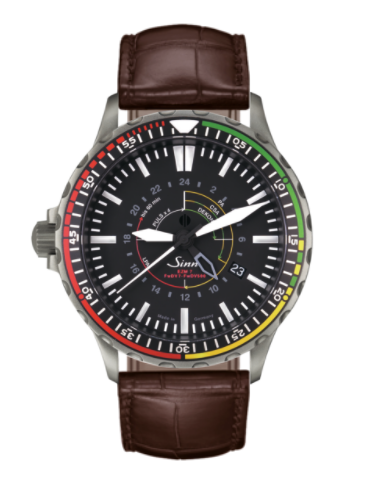 Sinn - EZM 7 - Brown Leather Strap options - 857.030