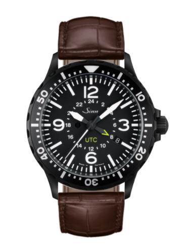 Sinn - 857 S UTC - Brown Leather Strap options - 857.020