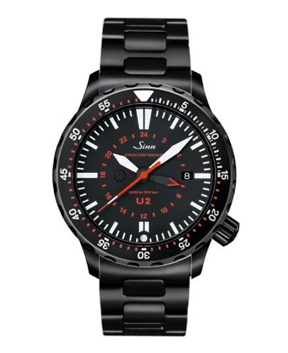 Sinn - U2 S (EZM 5) - Bracelet option - 1020.020