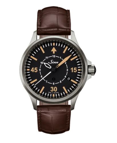 Sinn - 856 B-Uhr - Brown Leather Strap Options - 856.012