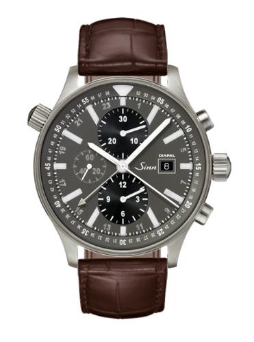 Sinn - 900 DIAPAL - Brown Leather Strap options -900.013