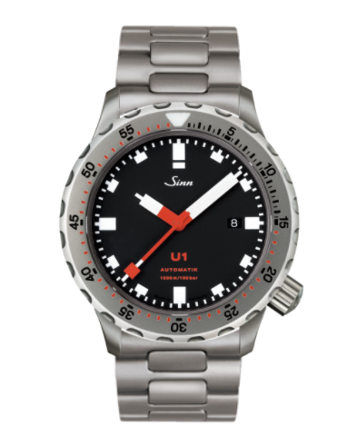 Sinn - U1 with TEGIMENT - Bracelet option - 1010.030